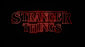 cool opening of stranger things with ae