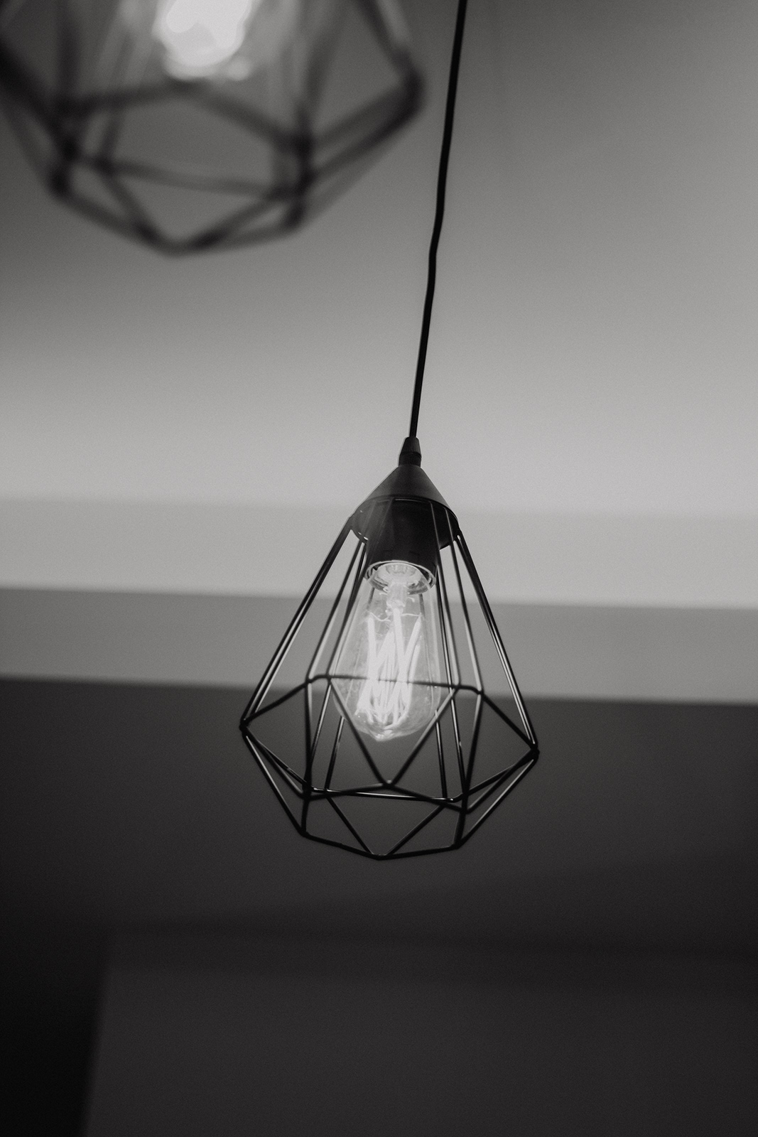 detalle mobiliario, lámpara centro Sabrina navarro